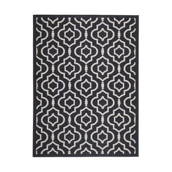 Covor potrivit pentru exterior Safavieh Mykonos Grey, 289 x 200 cm