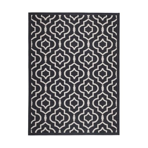 Koberec vhodný i na venkovní použití Safavieh Mykonos Grey, 289 x 200 cm