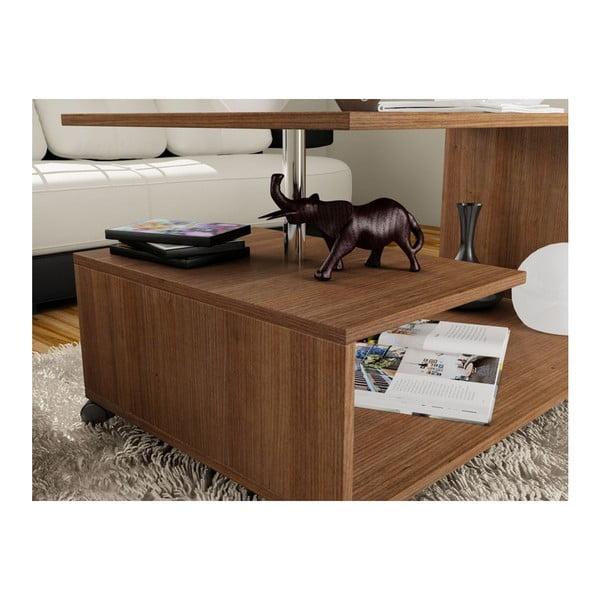 Konferenční stolek Karanfil Walnut