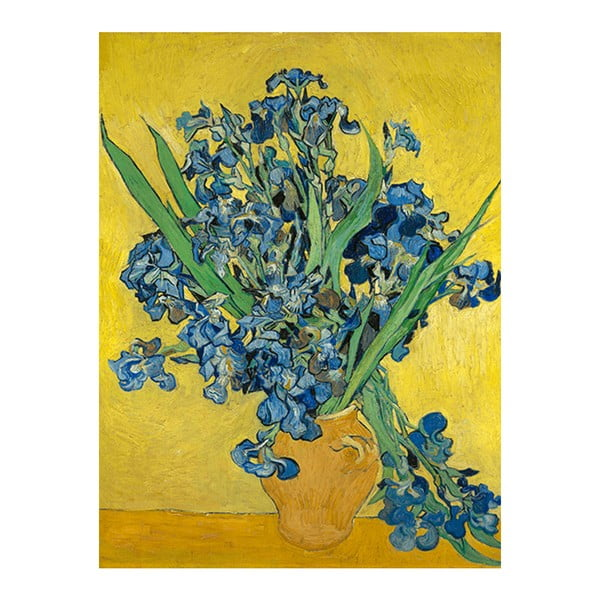 Reproducere pe pânză după Vincent van Gogh - Irises, 60 x 45 cm