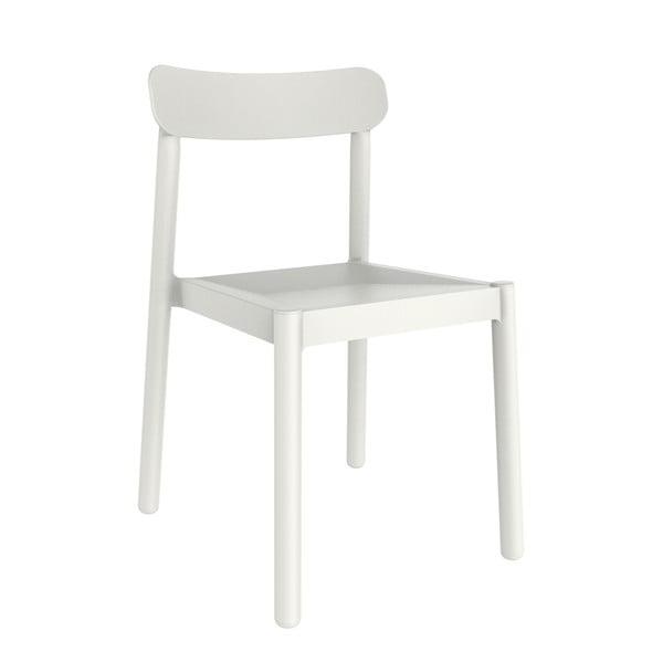Set 4 scaune de grădină Resol Elba, alb