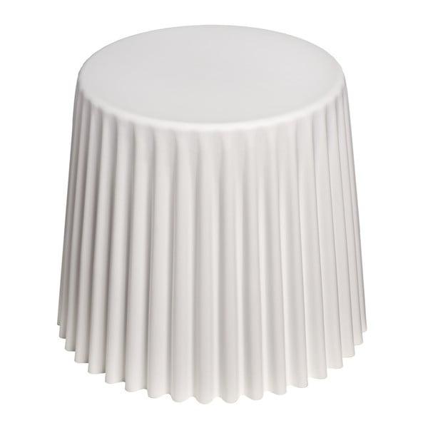 Bílý stolek D2 Cork