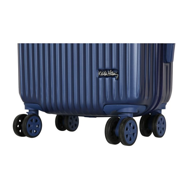 Tmavě modrý příruční kufr LULU CASTAGNETTE Darwin, 44l