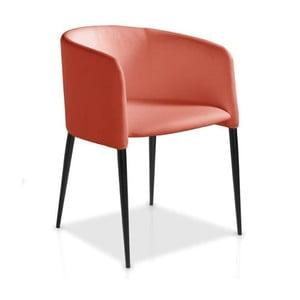 Oranžová jídelní židle Ángel Cerdá Juana