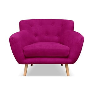 Tmavě růžové křeslo Cosmopolitan design London