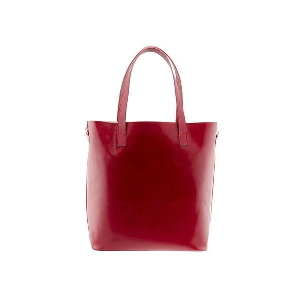 Kožená kabelka Markese 8768 Red