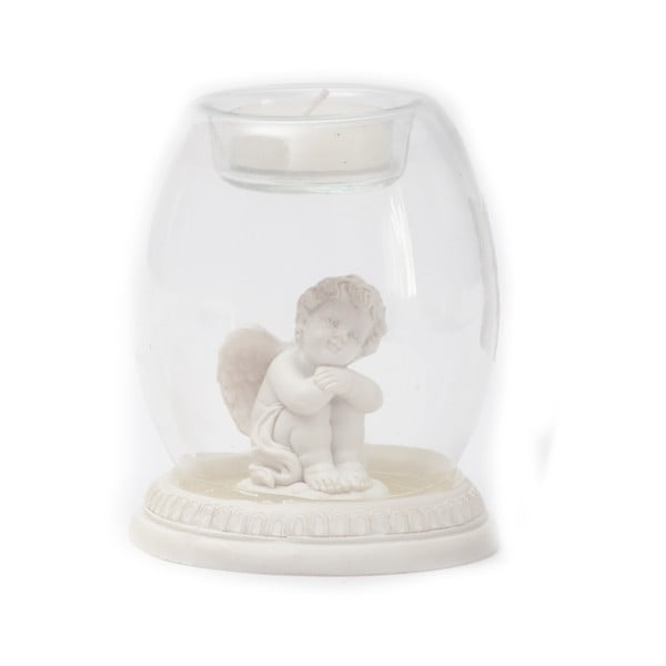 Stojan na svíčku s andílkem Angel
