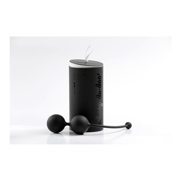 Černé designové venušiny kuličky Whoop.de.doo, 102 g