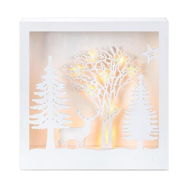 LED světelná dekorace Markslöjd Folkabo, výška 27 cm
