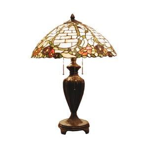 Tiffany stolní lampa Metkap