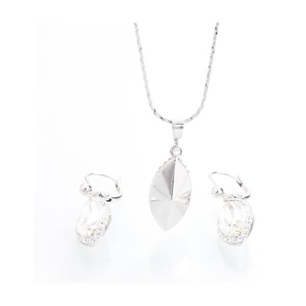 Set náhrdelníku a náušnic se Swarovski Elements Ines