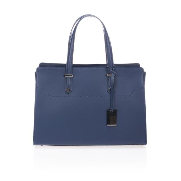 Niebieska torebka skórzana Giorgio Costa Prato