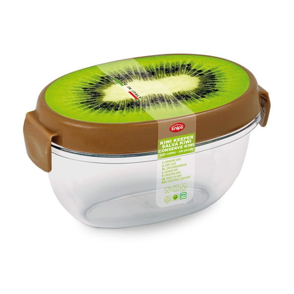Dóza na kiwi s příborem Snips Kiwi Fruit
