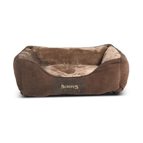 Psí pelíšek Chester Bed M 60x50 cm, čokoládový
