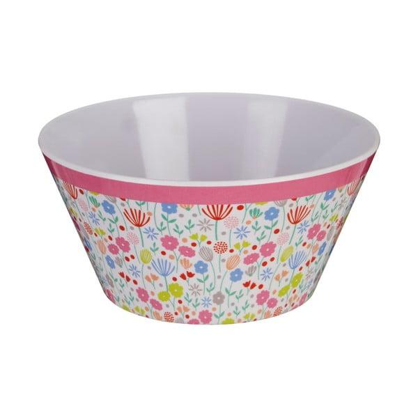 Barevná miska s motivem květin Premier Housewares Casey, ⌀ 15 cm