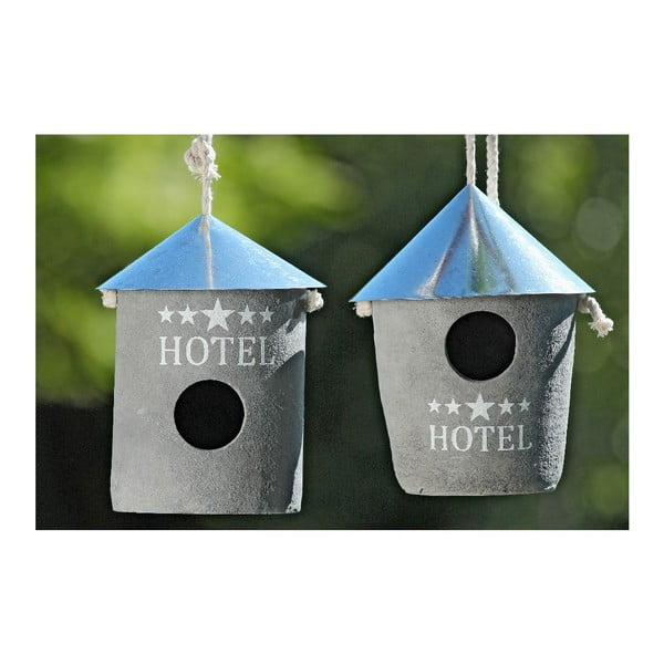 Set 2 ptačích budek Hotel
