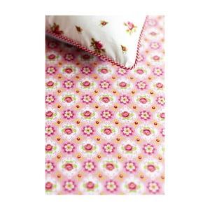 Prostěradlo Blossom Rose Pink 200x90 cm