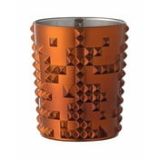 Oranžová sklenička z křišťálového skla Nachtmann Punk, 348ml