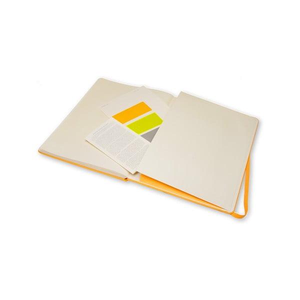 Zápisník Moleskine Pro Orange, extra velký