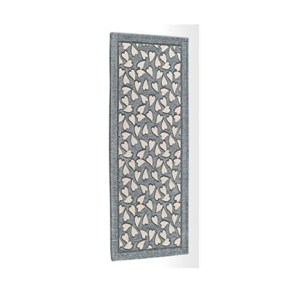 Corazon szürke fokozottan ellenálló konyhai szőnyeg, 55 x 190 cm - Floorita
