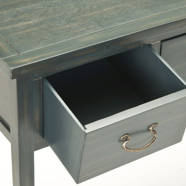 Tmavě zelený konzolový stolek Safavieh Riley