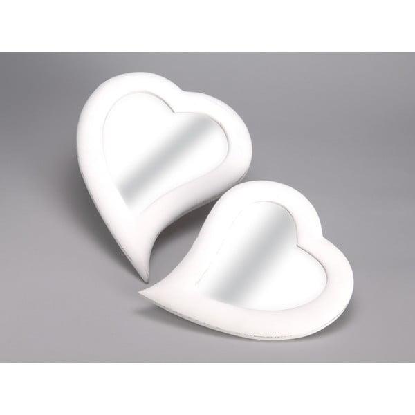 Set 2 zrcadel Heart, 32x40 cm