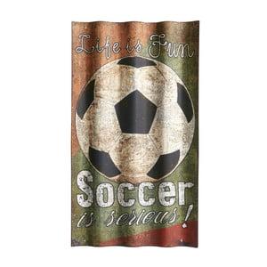 Cedule Soccer, 66x37 cm