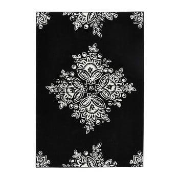 Covor Hanse Home Gloria Blossom, 160x230cm, negru alb