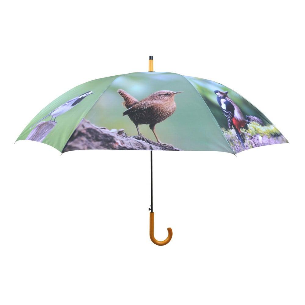 Deštník s motivem ptáčků Esschert Design, ⌀ 120 cm