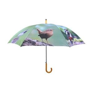 Deštník s motivem ptáčků Esschert Design, Ø 120 cm