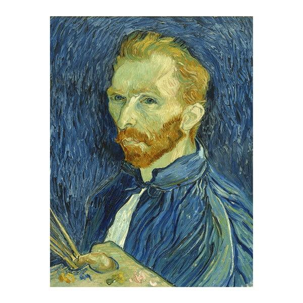 Obraz Vincenta van Gogha - Self-Portrait, 60x45 cm