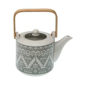 Čajová konvička z porcelánu se sítkem VERSA Ornament
