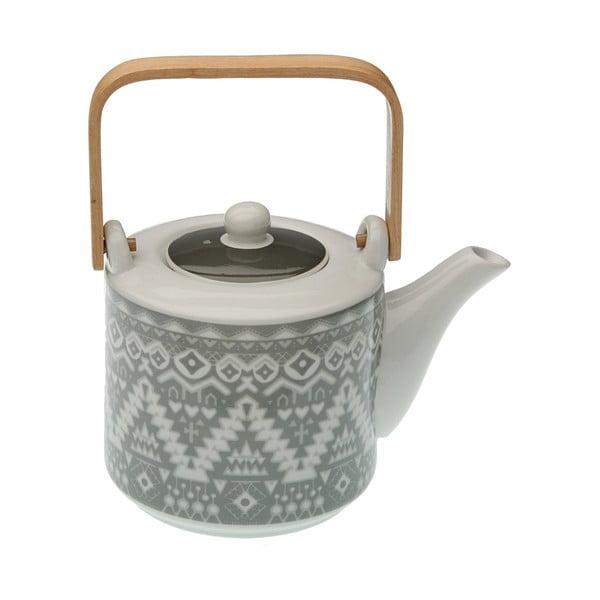 Čajová kanvička z porcelánu so sitkom VERSA Ornament
