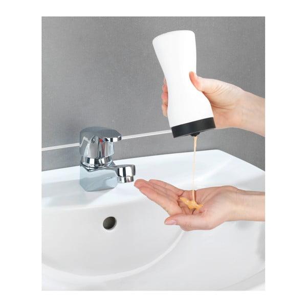 Bílý dávkovač na mycí prostředek Wenko Squeeze, 250 ml