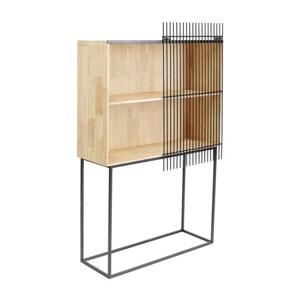 Dřevěná komoda bez dvířek Kare Design Copenhagen, výška 148cm