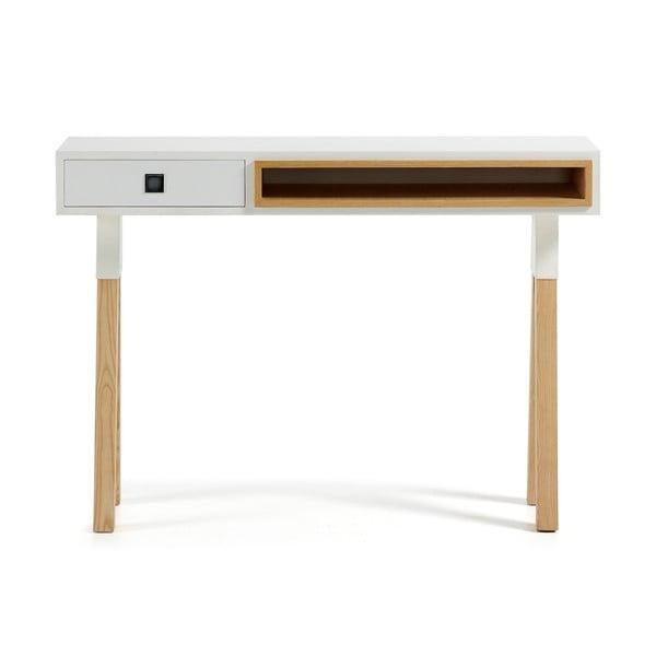 Bílý konzolový stolek La Forma Stick