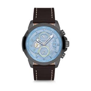 Pánské hodinky s koženým řemínkem Santa Barbara Polo & Racquet Club Diver