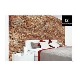 Velkoformátová tapeta Eurographics Brick Wall,254x366 cm