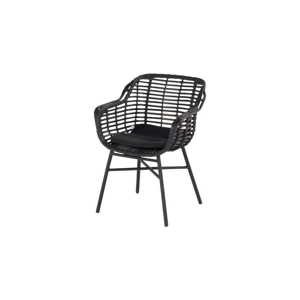 Černá zahradní židle Hartman Cecilia