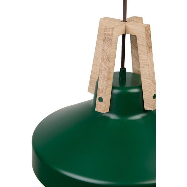 Zelené stropní světlo Loft You Work, 44 cm