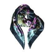 Hedvábný šátek Linea, 130x130 cm