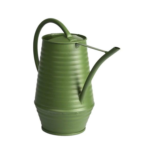 Tmavě zelená zahradní konvička Esschert Design Watering, 950 ml
