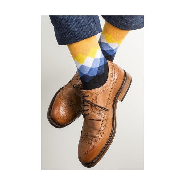 Sada 3 párů unisex ponožek Funky Steps Felise, velikost39/45