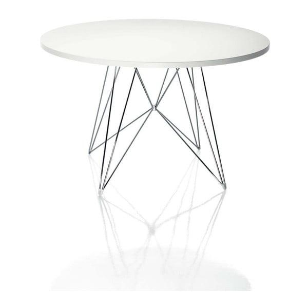 Bella fehér étkezőasztal, ø 72 cm - Magis