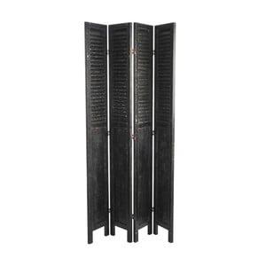 Paravan Windbreak Black, 106x183 cm