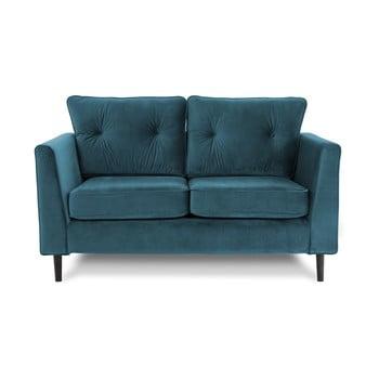 Canapea cu două locuri VIVONITA Portobello, albastru deschis de la Vivonita