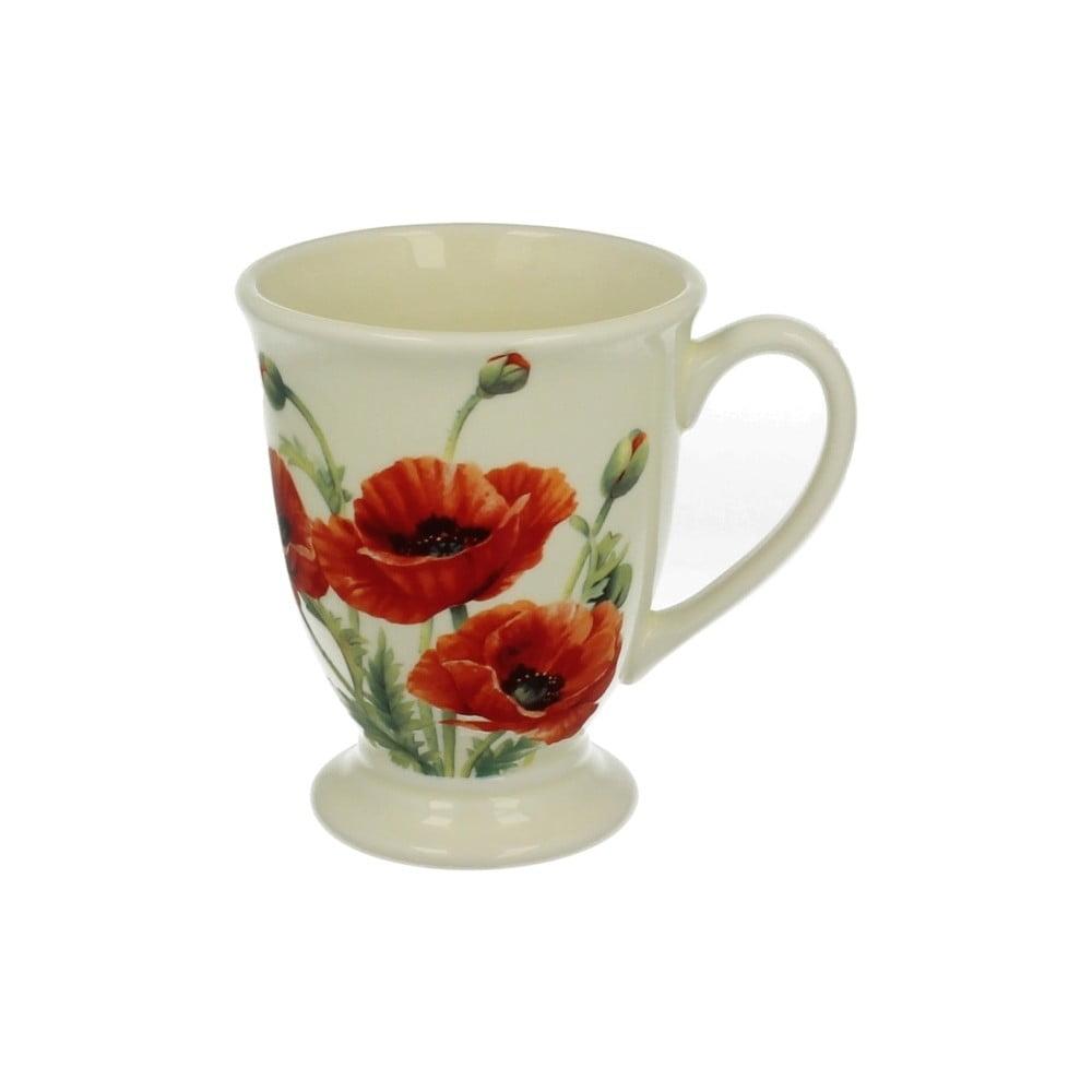 Hrnek z porcelánu s motivem květiny Duo Gift Maki, 550 ml