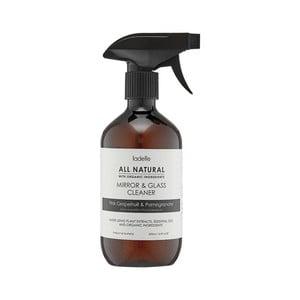 Detergent natural pentru oglindă cu aromă de portocală și grapefruit roz Ladelle