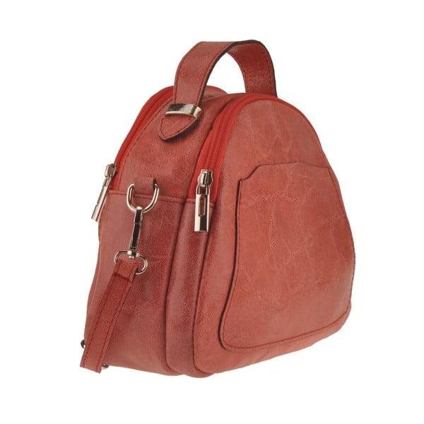 Korálová kožená kabelka Men