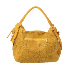 Žlutá kožená kabelka Tina Panicucci Promo
